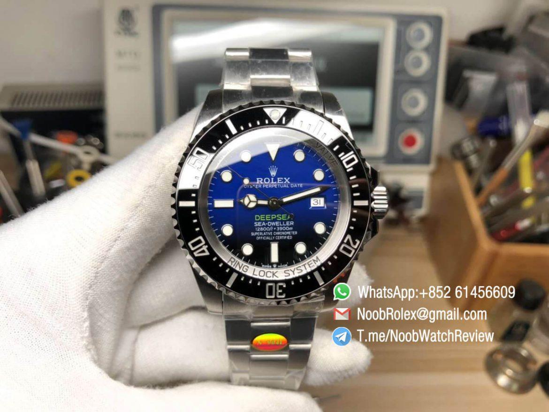 Noob V10 Sea Dweller 126660 DSSD DeepSea Sea Dweller 2019 New D Blue Dial with Crown Logo 904L Steel Case and Bracelet SA3235 01