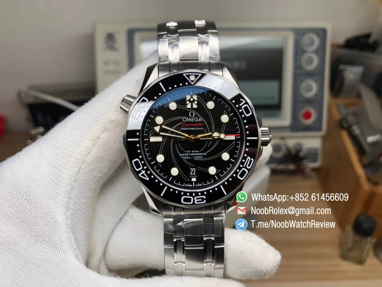 VSF Best Edition Seamaster Diver 300M 007 James Bond Limited Edition Stainless Steel Case Bracelet A8800 Movement 01